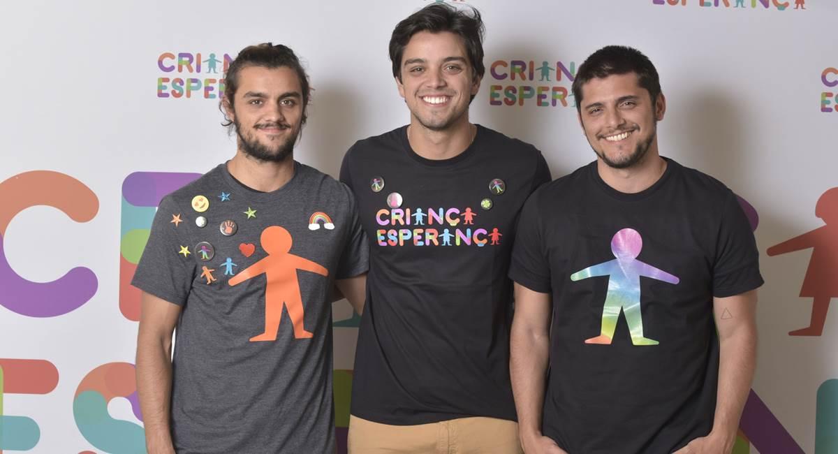 Rodrigo Simas , Felipe Simas e Bruno Gissoni