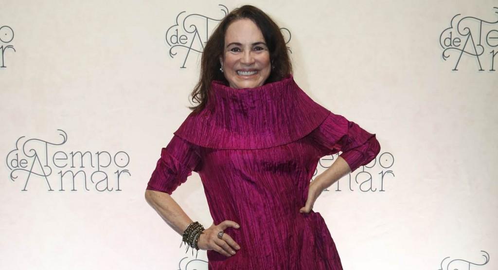 Regina Duarte entrará na segunda fase de Tempo de amar