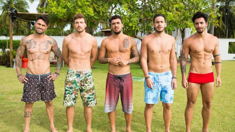 Elenco masculino da segunda temporada de De férias com ex Brasil