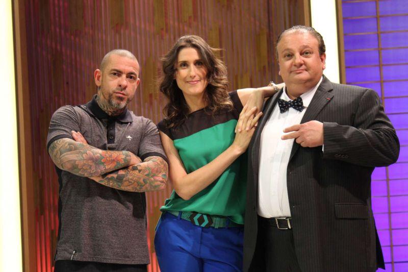 Crédito: Band/Divulgação. Jurados do MasterChef Brasil incentivam o fenômeno da segunda tela