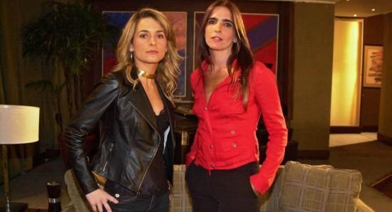 Crédito: Arquivo/TV Globo. Claudia Abreu e Malu Mader eram as protagonistas de Celebridade