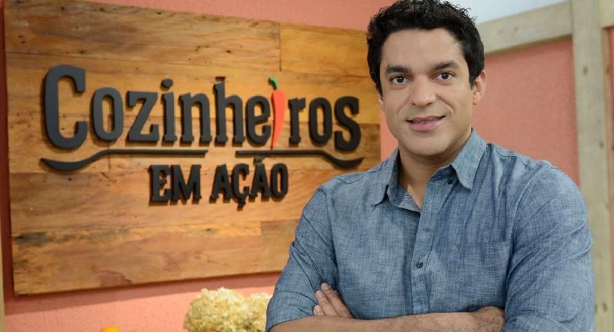 Chef Thiago Castanho, apresentador do Cozinheiros