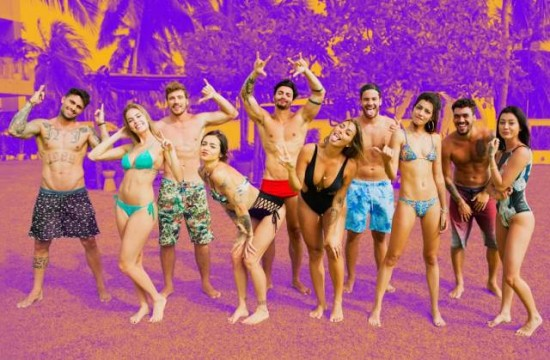 Elenco da segunda temporada de De férias com ex Brasil