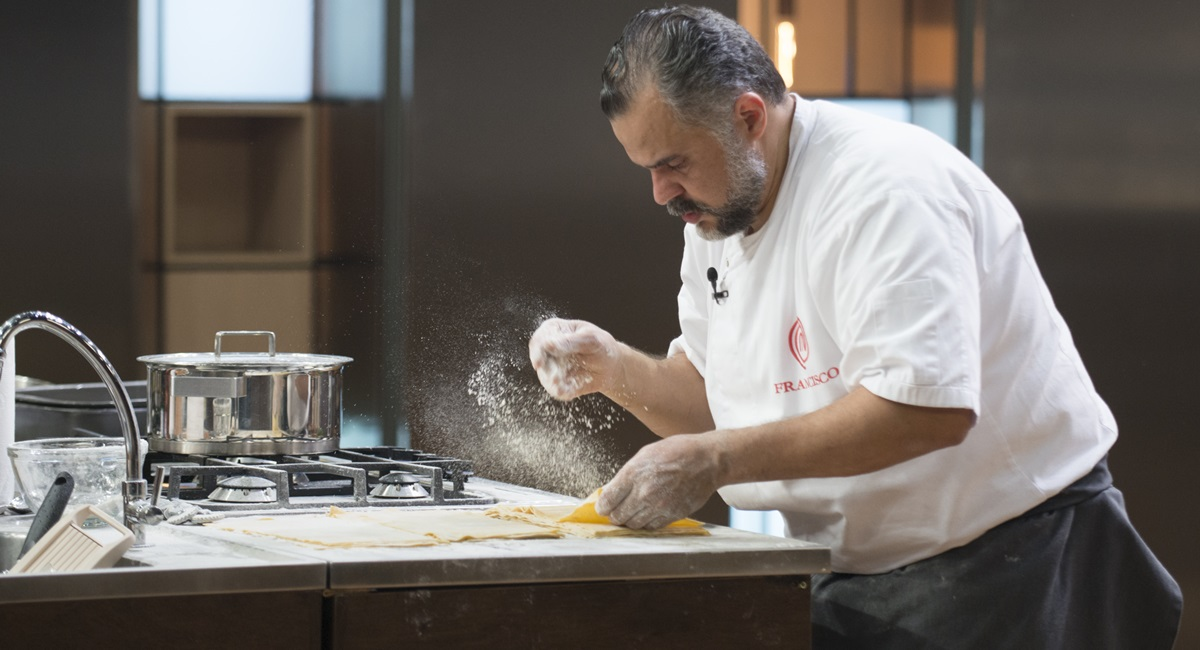 Francisco foi o grande nome do episódio mais emocionante desta temporada do MasterChef