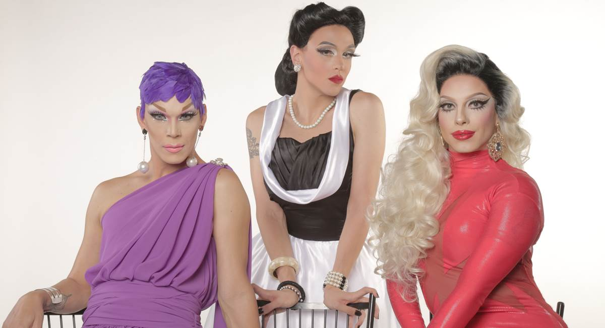 Apresentadoras do programa Drag me as a queen