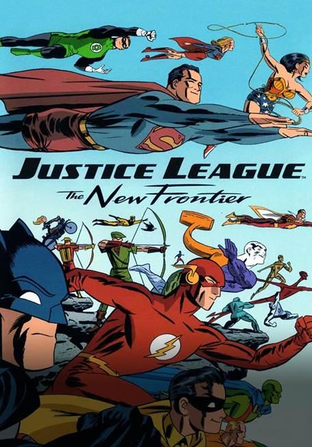 Cena da animação sobre a Liga da Justiça