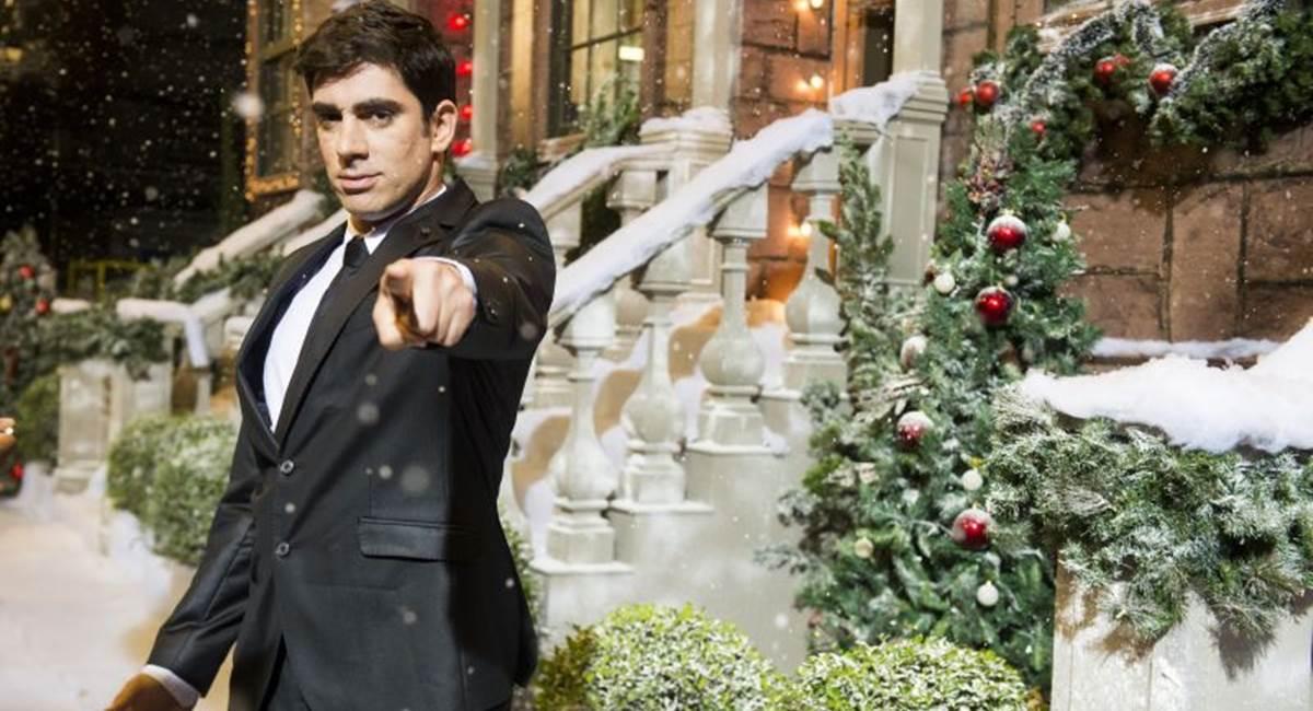 Crédito: João Miguel Júnior/TV Globo. Marcelo Adnet como Michael Bublé na terceira temporada de Tá no ar: a TV na TV.
