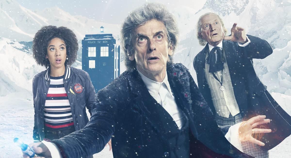 Cena do episódio especial de Natal de Doctor who