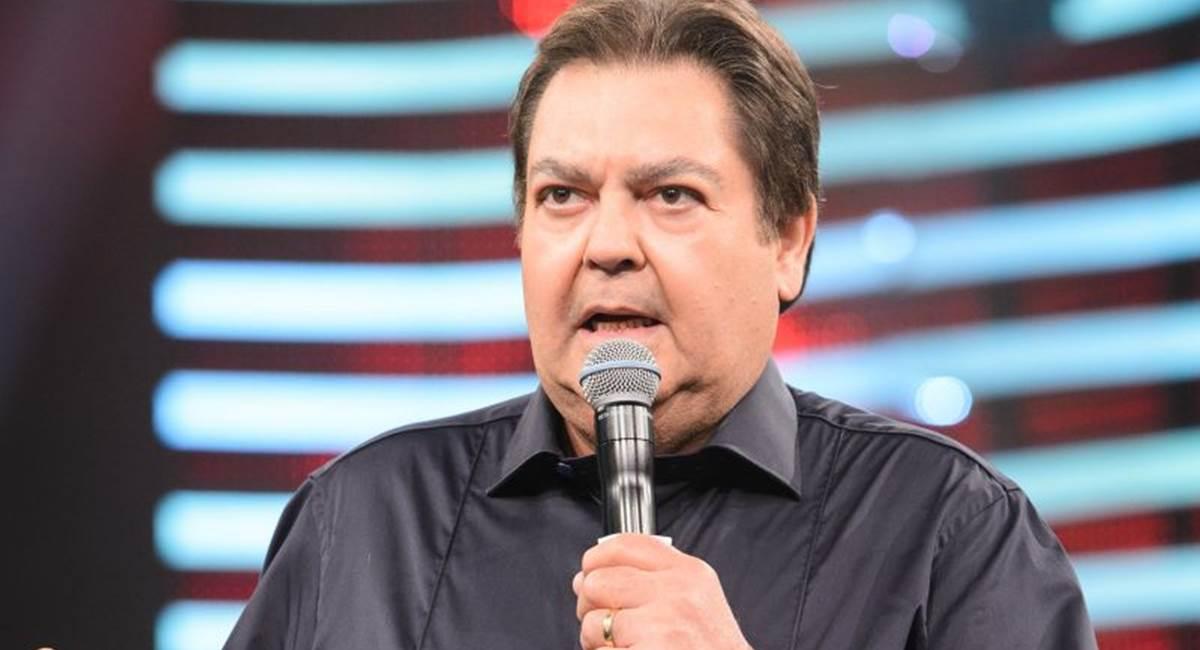 Globo/Ramón Vasconcelos. Fausto Silva não costuma reconhecer talentos fora da Globo