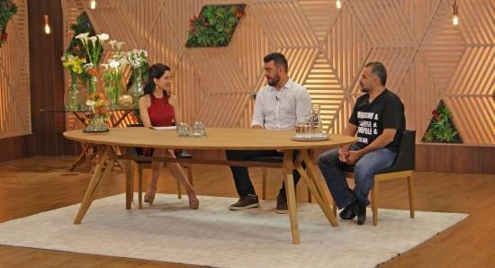 Ana Paula Padrão vai receber Pablo e Francisco no MasterChef