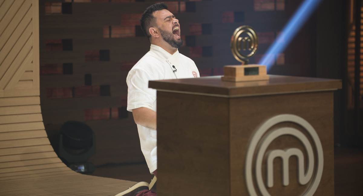 Pablo foi o grande vencedor da última edição do MasterChef