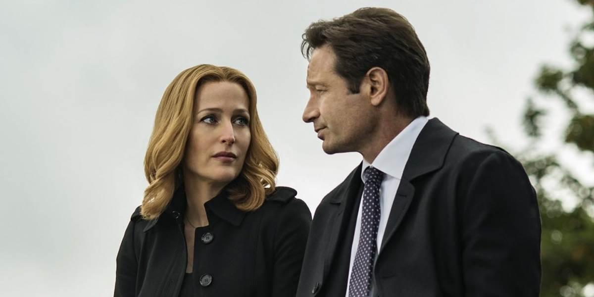 Cena da 11ª temporada da série Arquivo X, da Fox.