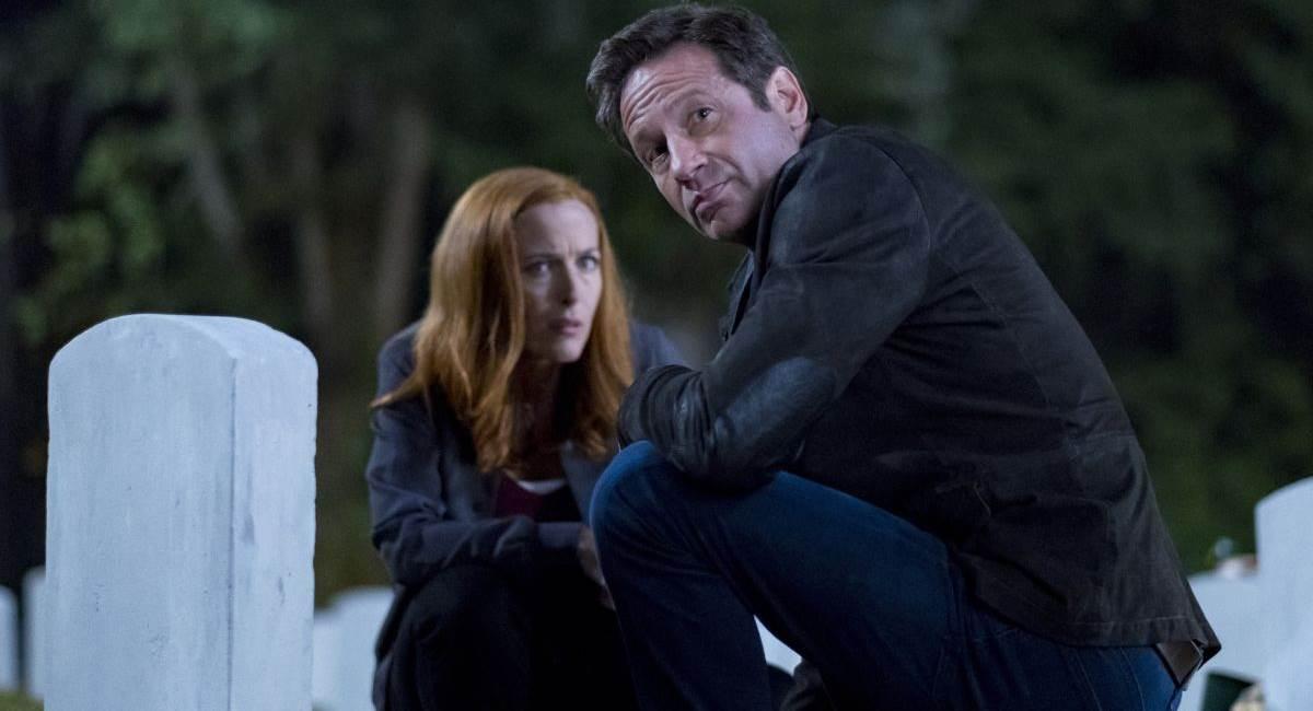Cenas da 11ª temporada da série Arquivo X, da Fox