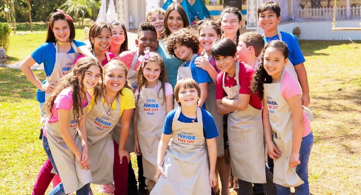 As crianças comandam as caçarolas na edição Junior do Bake off