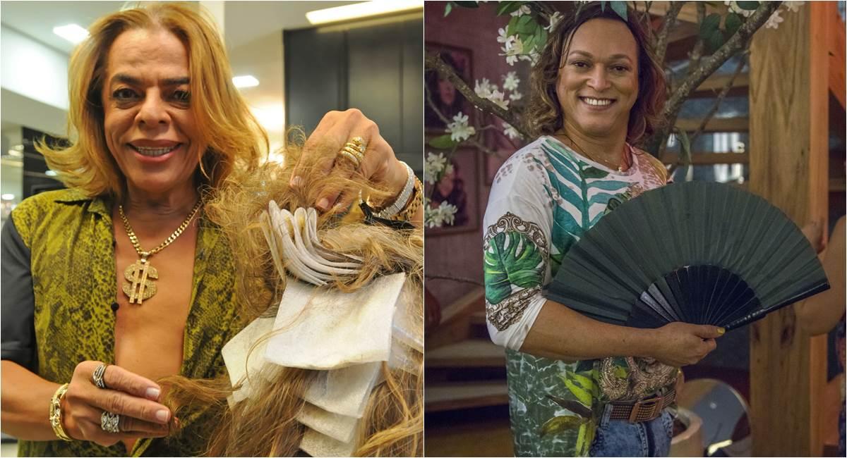 Crédito: Bárbara Cabral/Esp. CB/D.A Press e Globo/Paulo Belote. Carlinhos Beauty e Fabio Lago, como Nick
