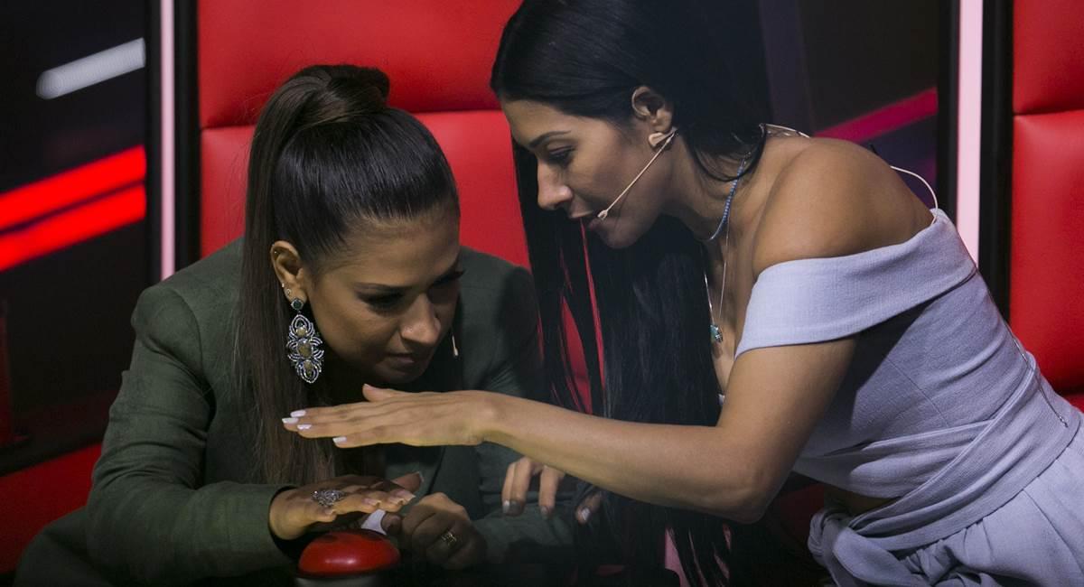 Simone & Simaria serão as técnicas da brasiliense Rayane Lima no The voice kids