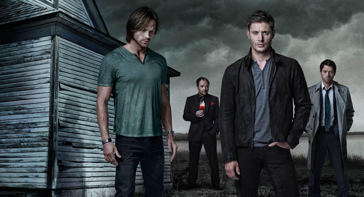 Cena da 10ª temporada da série Sobrenatural