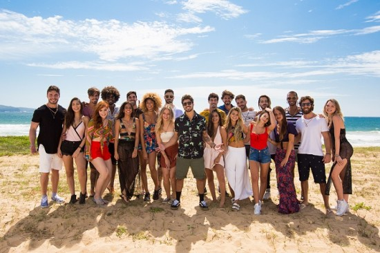 Caio Castro e o elenco do Are you the one? Brasil