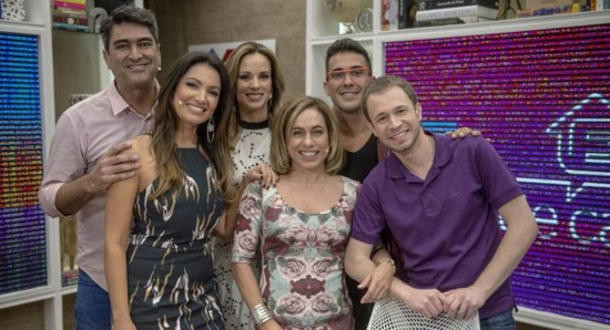 Crédito: Globo/ Renato Rocha Miranda. O número de apresentadores é um dos problemas do É de casa