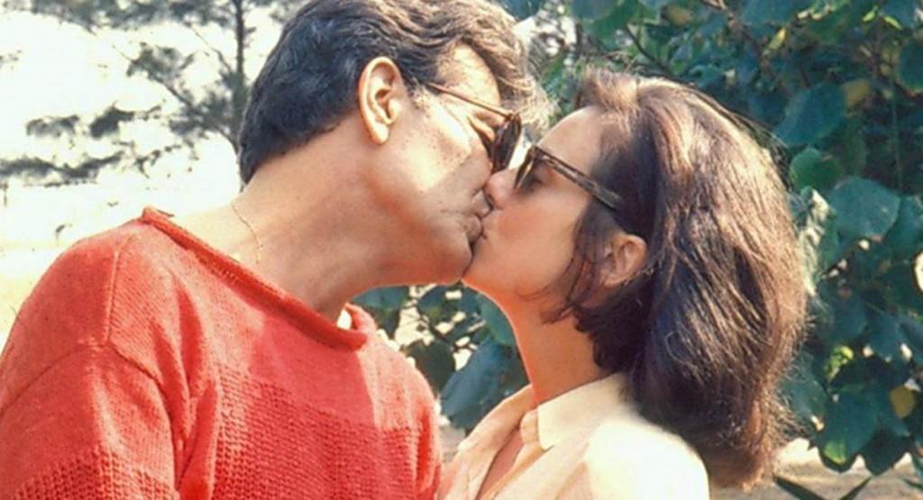 Tarcísio Meira e Bruna Lombardi eram o casal principal de Roda de fogo