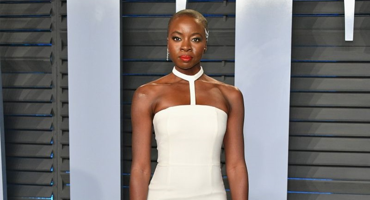 BEVERLY HILLS, CA - MARCH 04: Danai Gurira attends the 2018 Vanity Fair Oscar Party hosted by Radhika Jones at Wallis Annenberg Center for the Performing Arts on March 4, 2018 in Beverly Hills, California. Dia Dipasupil/Getty Images/AFP== FOR NEWSPAPERS, INTERNET, TELCOS & TELEVISION USE ONLY ==