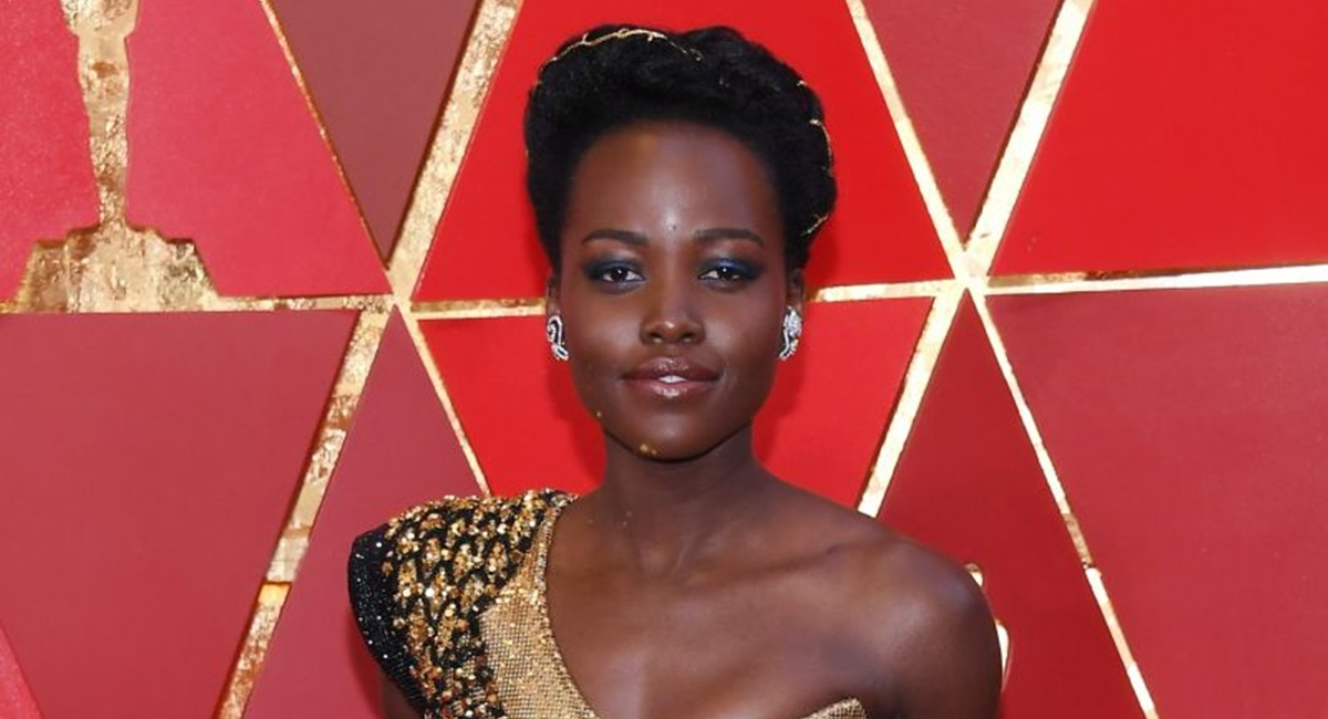 HOLLYWOOD, CA - MARCH 04: Lupita Nyong?o attends the 90th Annual Academy Awards at Hollywood & Highland Center on March 4, 2018 in Hollywood, California. Kevork Djansezian/Getty Images/AFP== FOR NEWSPAPERS, INTERNET, TELCOS & TELEVISION USE ONLY ==