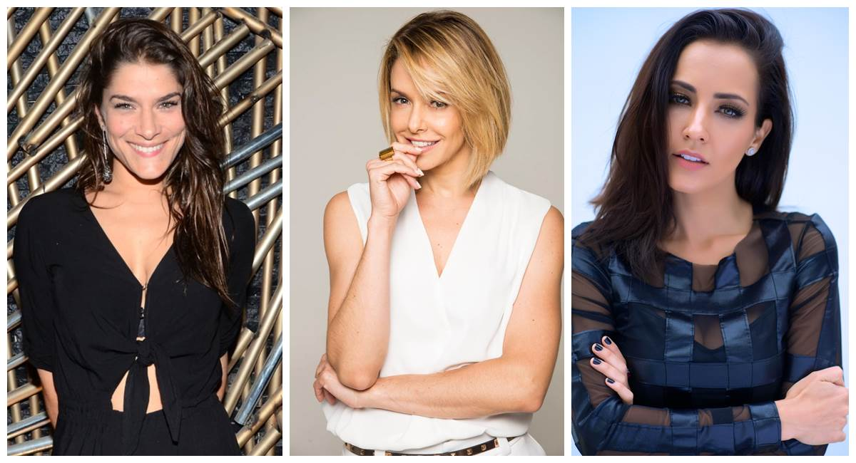 Priscila Fantin, Bianca Rinaldi e Maytê Piragibe dividem o mesmo personagem em Os Bollagattos