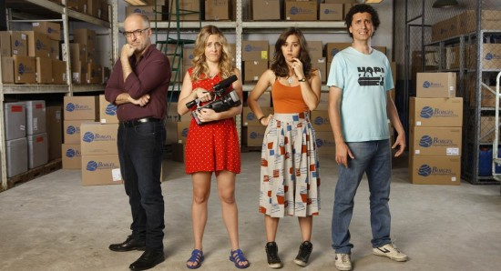 Crédito: Comedy Central/Divulgação. Cena da primeira temporada da série Borges importadora, do canal Porta dos Fundos.
