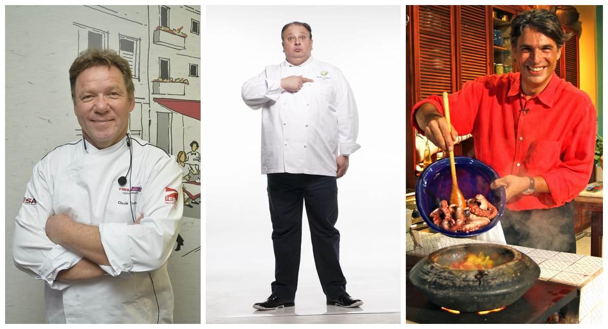 Chefs franceses fazem sucesso na televisão brasileira
