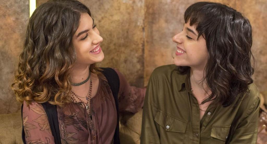 Samantha e Lica tiveram um romance em Malhação