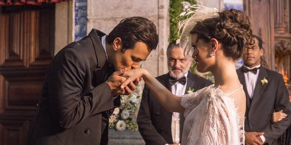 Crédito: Marília Cabral/Divulgação. Com o passar da trama, Maria Vitória se apaixonou e casou com Vicente
