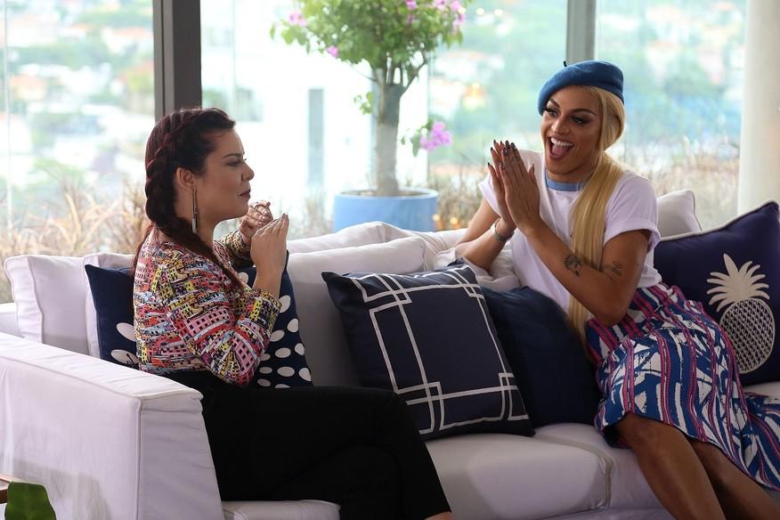 A drag queen Pabllo Vittar é uma das convidadas do Vai Fernandinha. Crédito: Multishow/Divulgação