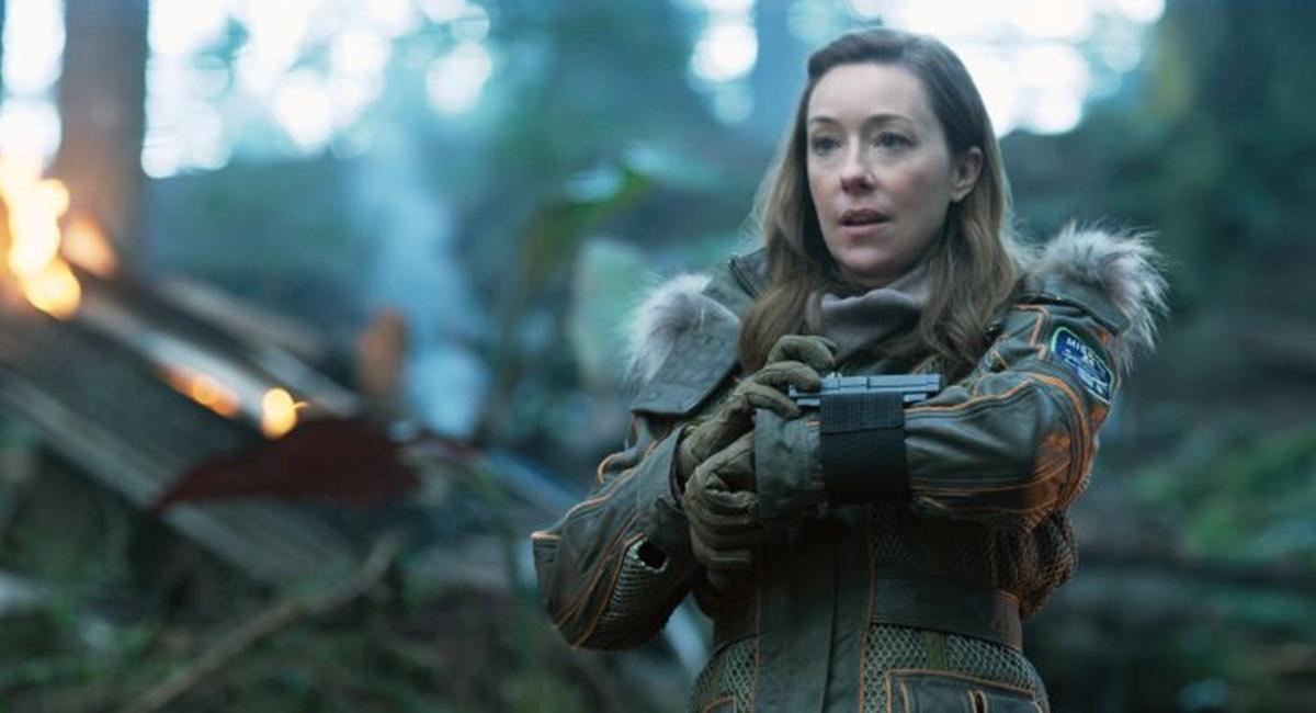 Maureen ganhou destaque na nova versão de Perdidos no espaço