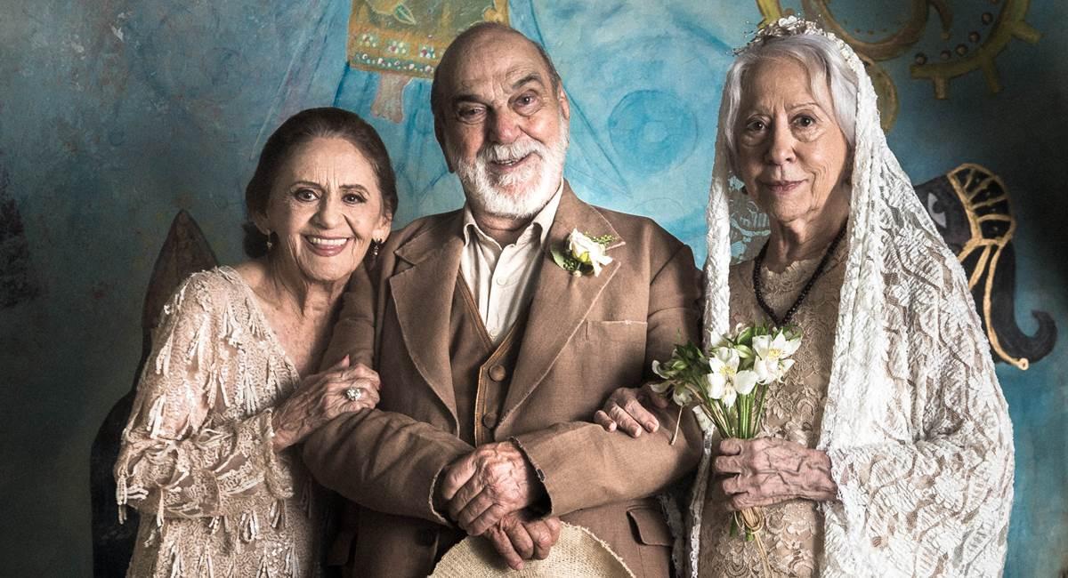 Laura Cardoso, Lima Duarte e Fernanda Montenegro: elenco dos sonhos