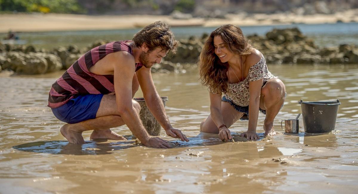 Beto e Luzia se apaixonam à primeira vista em Segundo sol