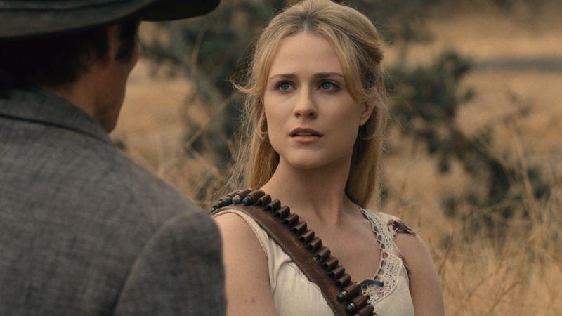 Crédito: John P. Johnson/Divulgação. Personagem Dolores (Evan Rachel Wood) na segunda temporada de Westworld.