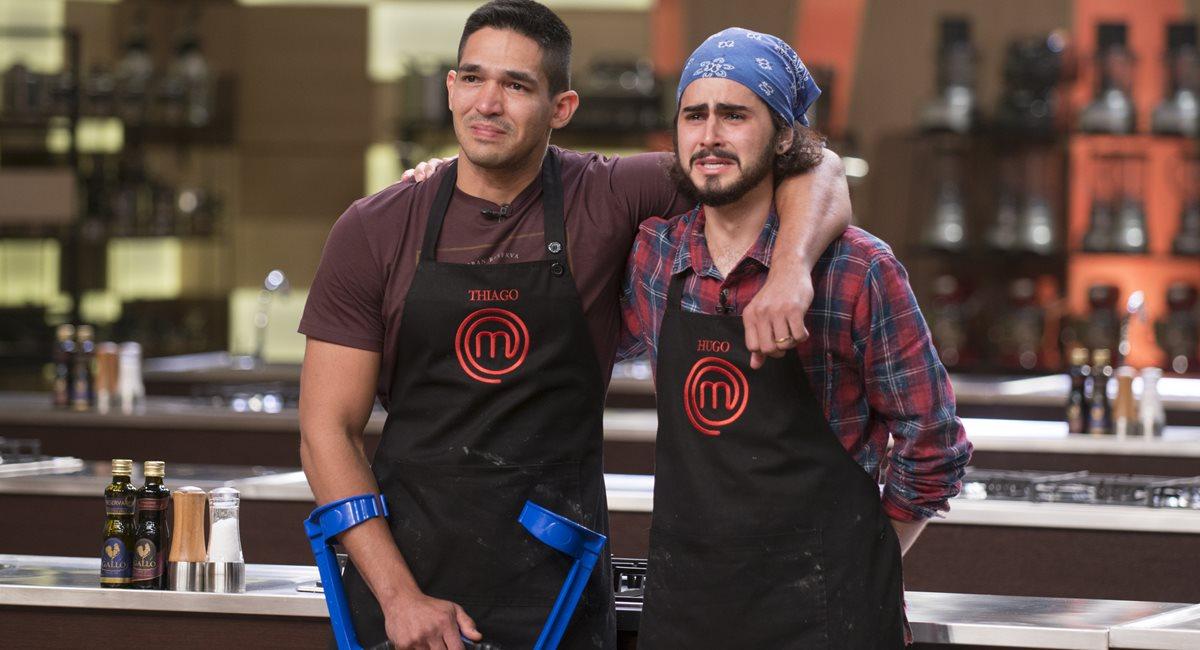 Thiago e Hugo mereciam chegar à final do MasterChef