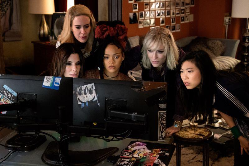 Reprodução/Internet. Foto do filme Oito mulheres e um segredo.