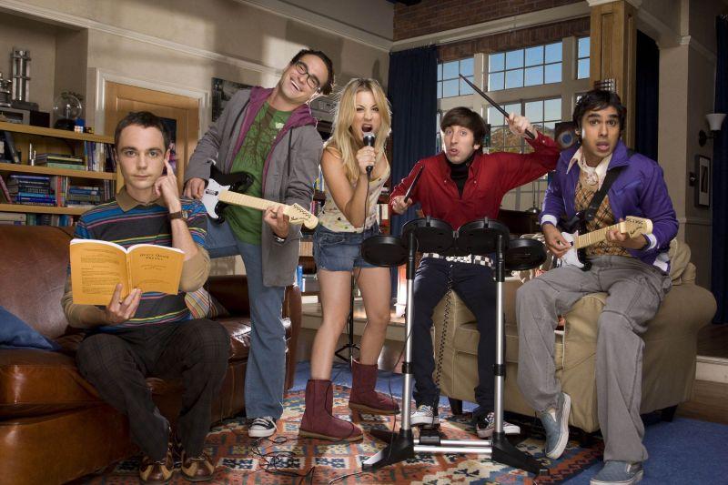 Crédito: Warner Channel/Divulgação. Série The Big Bang Theory.