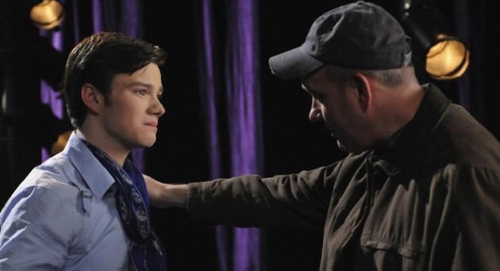 Cenas de pai e filho em Glee emocionaram o público