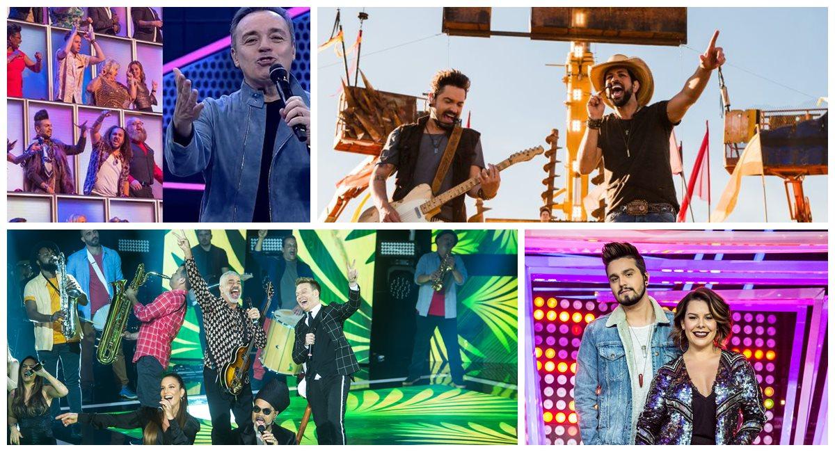 Emissoras investem na equação música + tv para ganhar audiência