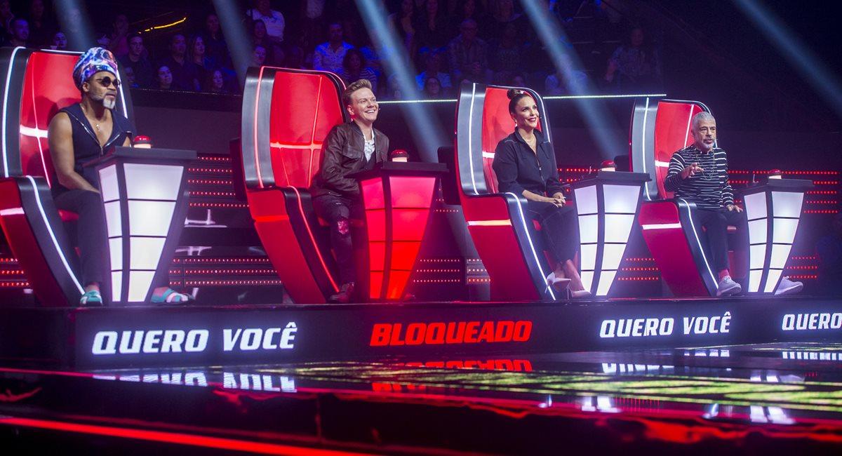 O The voice Brasil está na sétima temporada