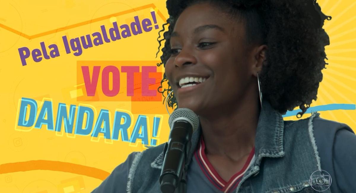 Dandara defende que os alunos devem ser tratados com igualdade