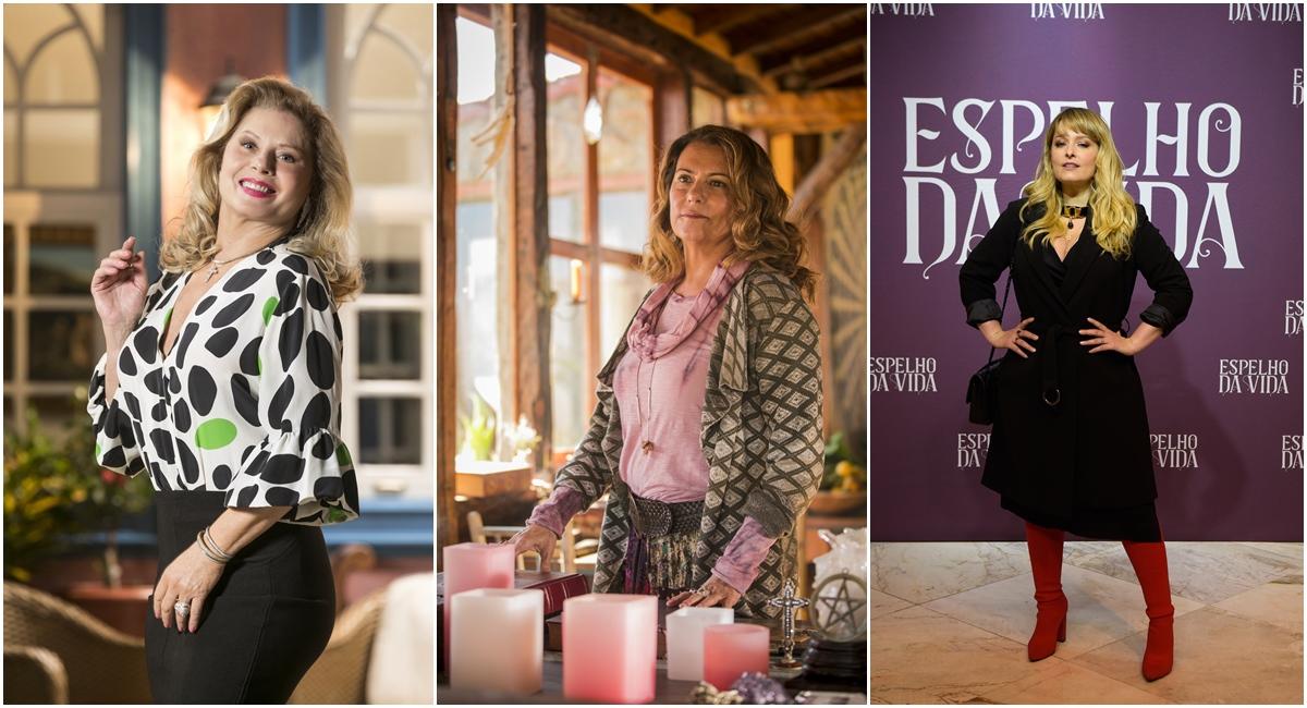 Vera Fisher, Patricya Travassos e Luciana Vendramini voltam em 'Espelho da vida'
