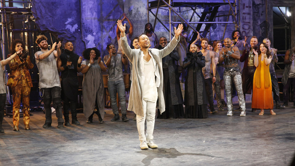 JESUS CHRIST SUPERSTAR LIVE IN CONCERT -- Pictured: John Legend as Jesus -- (Photo by: Eric Liebowitz/NBC)