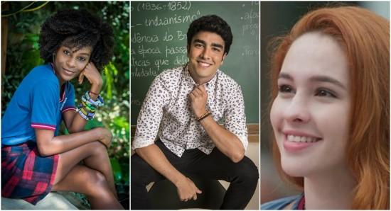 Dandara, Hugo e Fabiana se enfrentam nas urnas: discussão oportuna em 'Malhação'