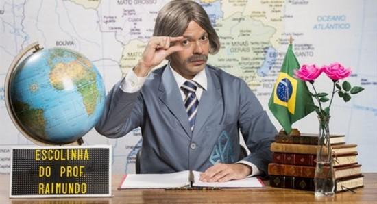O Professor Raimundo atravessa gerações na televisão