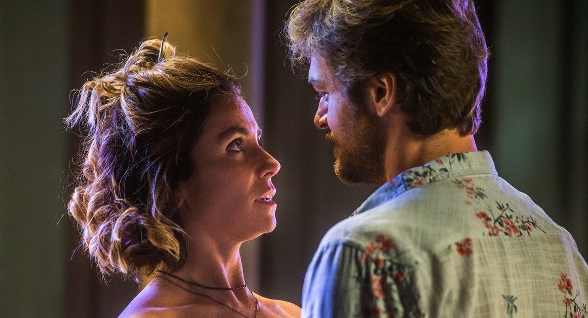 Luzia e Beto em Segundo sol