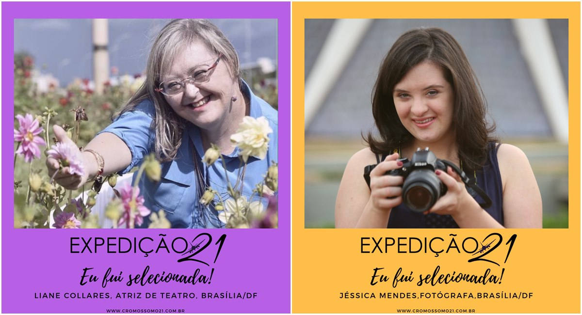 Jessica Mendes e Lia Colares são as representantes de Brasília no Expedição 21