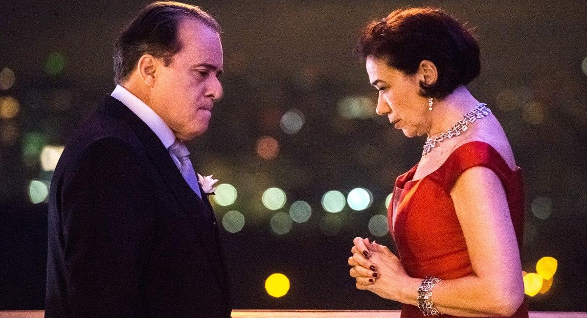 Tony Ramos e Lilia Cabral brilham em cena de O sétimo guardião